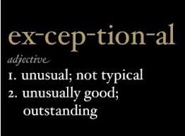 exceptional